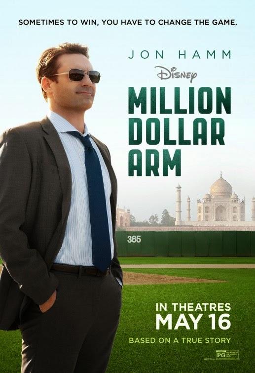 Million Dollar Arm Film Poster