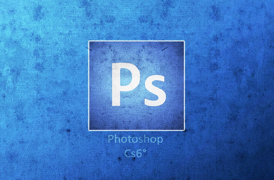 Photoshop CS6 Logo 3D Wallpaper