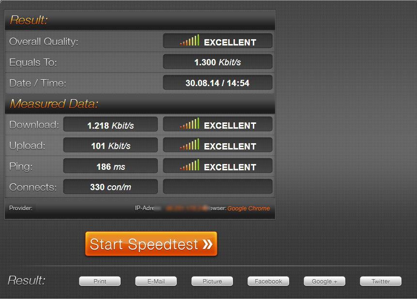 speed test-3