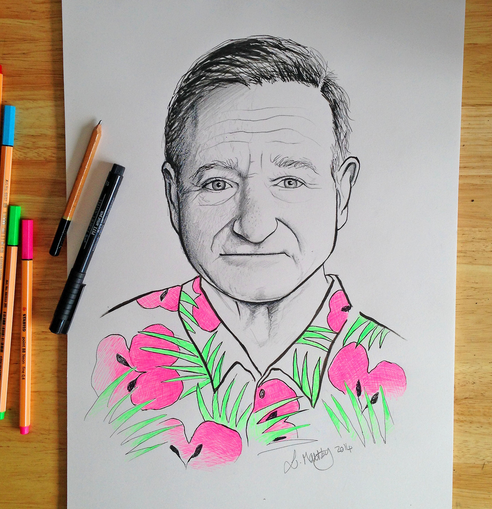 Pay Tribute to Robin Williams-1