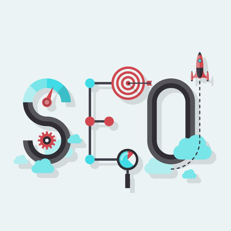 Seo-Word-Flat-Illustration
