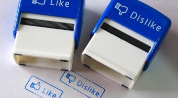 like vs dislike on facebook