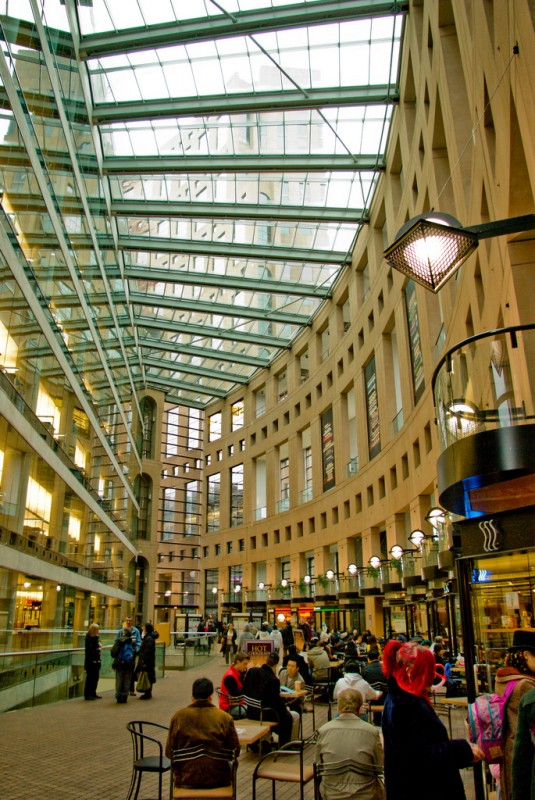 Central Library of Vancouver, Canada
