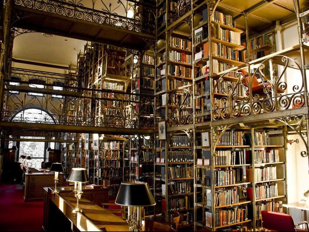 Cornell Univeristy Uris Library, USA