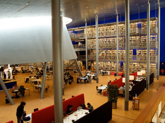 Delft University of Technology Library, Netherlands-1