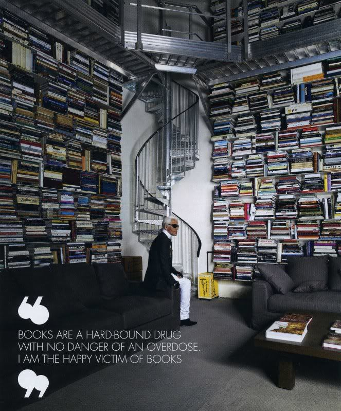 Karl Lagerfeld's Private Library, Paris