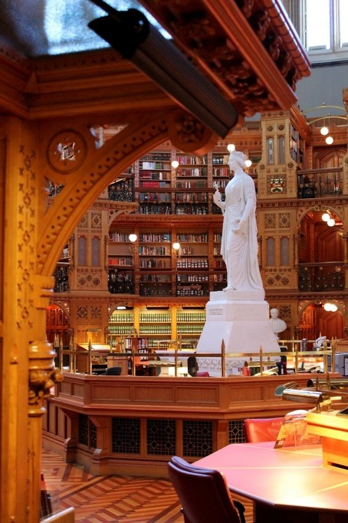 Library of Parliament, Canada-1