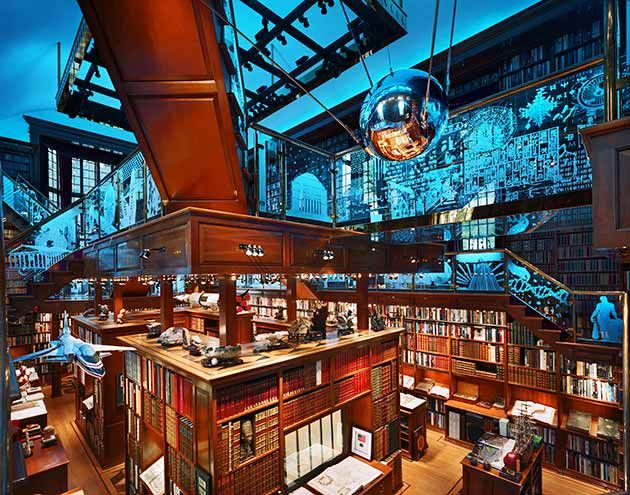 The Walker Library of the History of Human Imagination, USA