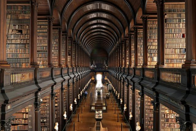 Trinity College Library, Ireland