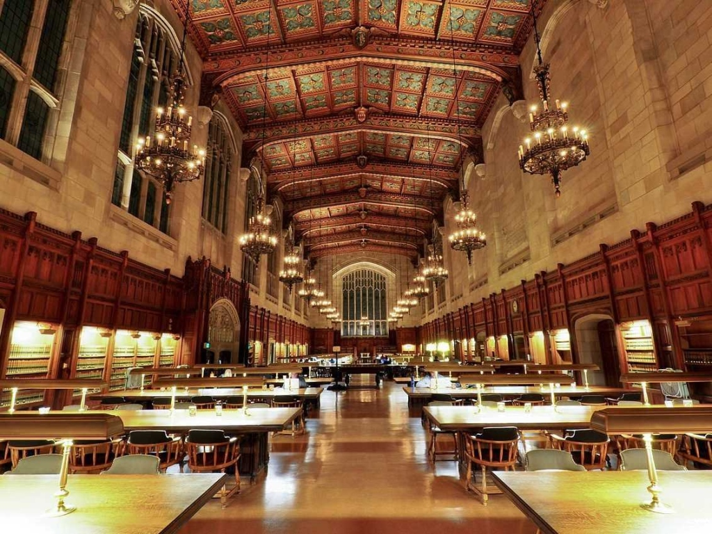 University of Michigan Law Library, USA