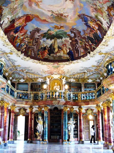 Wiblingen Monastery Library, Germany