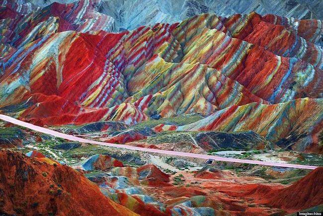 Zhangye Danxia Landform Geological Park-1