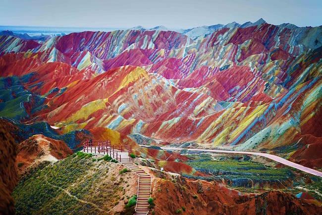 Zhangye Danxia Landform Geological Park-4