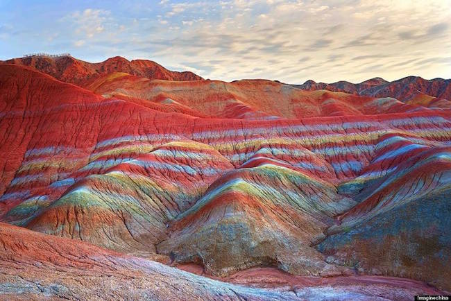 Zhangye Danxia Landform Geological Park-5