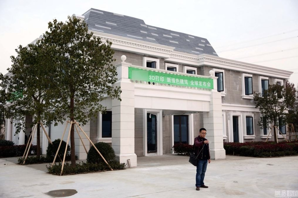 3D-Printing-Mansion-In-China
