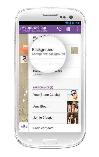 Changing-the-group-background-on-viber