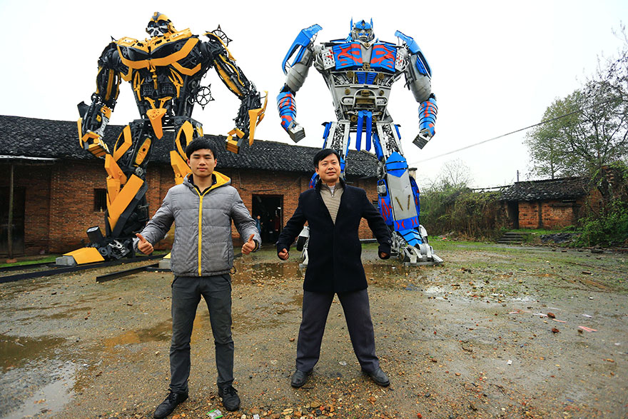 Build-Transformers-From-Scrap-Metal-In-China