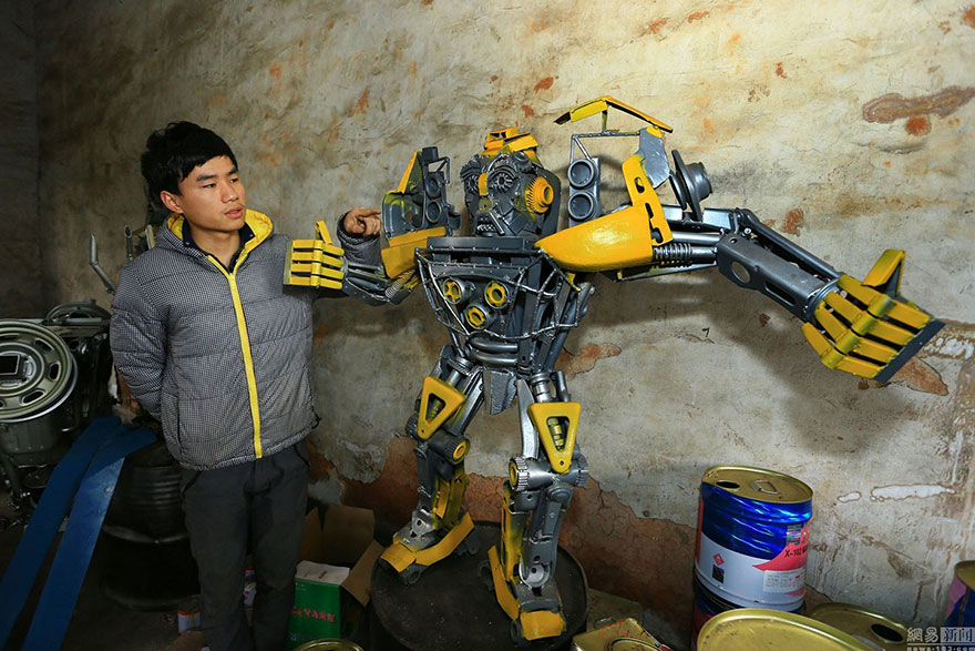 Build-Transformers-From-Scrap-Metal-In-China-8