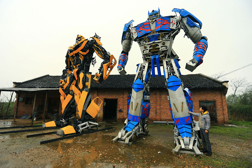 Build-Transformers-From-Scrap-Metal-In-China-9