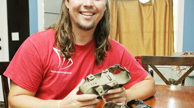 Shoes-That-Grow-Kenton-Lee-Invents-Sandals--Grow-5-Sizes-In-5-Years