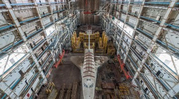 Sad-Remains-Of-The-Soviet-Space-Shuttle-Program-Baikonur-Cosmodrome-in-Kazakhstan