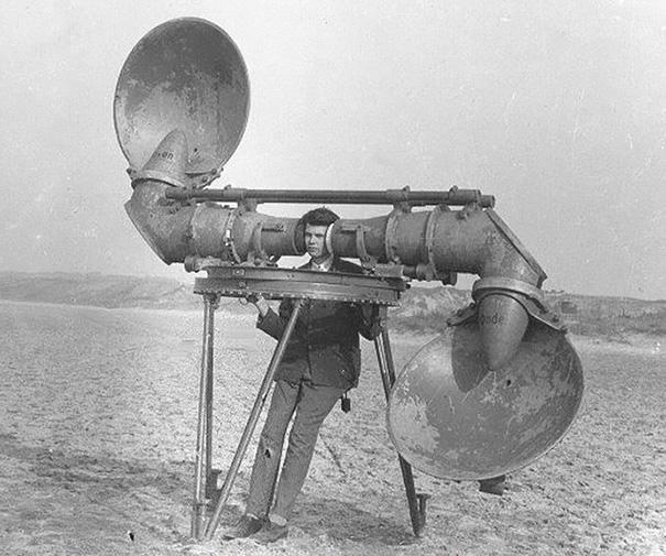 Pre-radar-Listener-For-Enemy-Aircraft