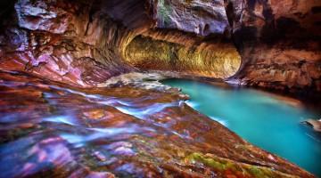 Underground-Road-National-Park-Zaion-Located-North-Creek-Park
