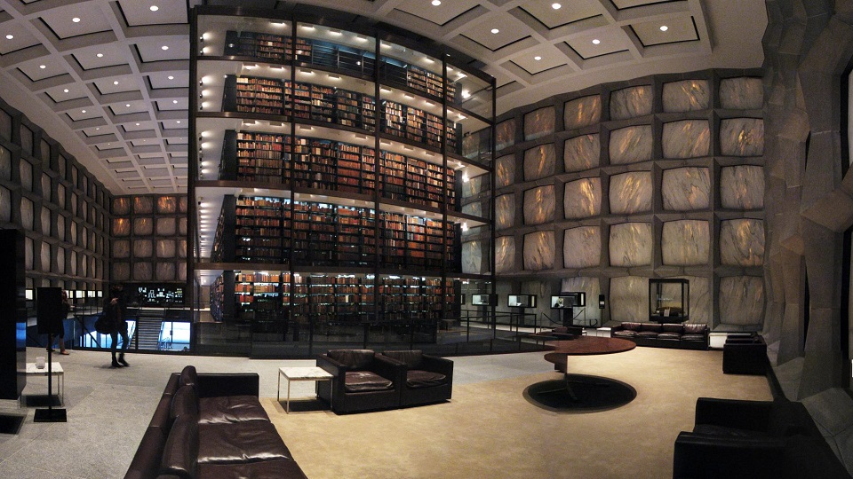 Beinecke-Rare-Book-&-Manuscript-Library-Connecticut