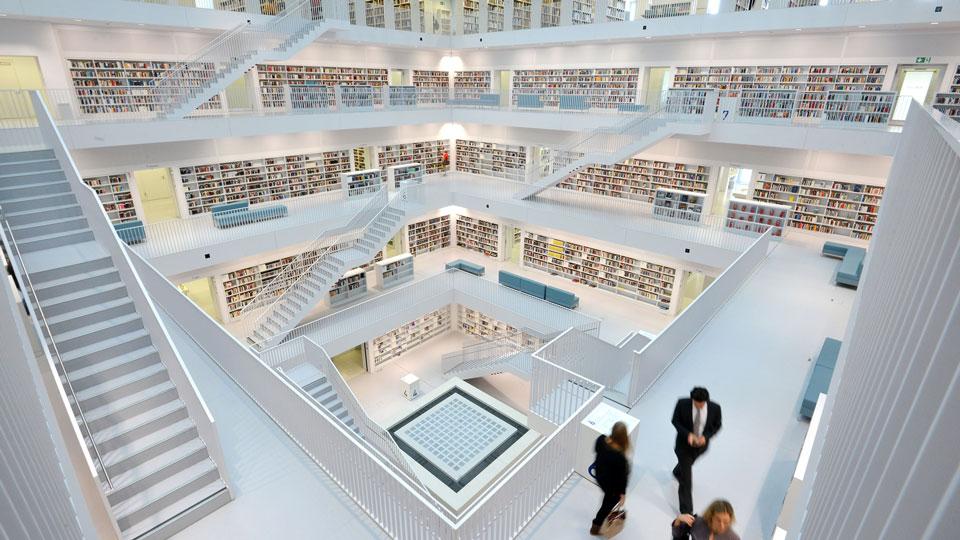 Stuttgart-City-Library-Germany