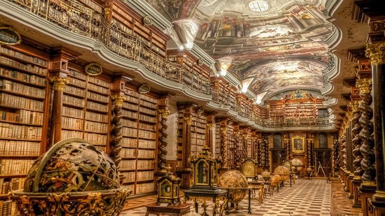 World-Most-Beautiful-Library-klementinum-national-library-czech-republic