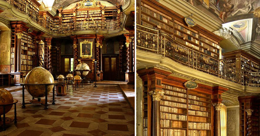 World-Most-Beautiful-Library-klementinum-national-library-czech-republic-3