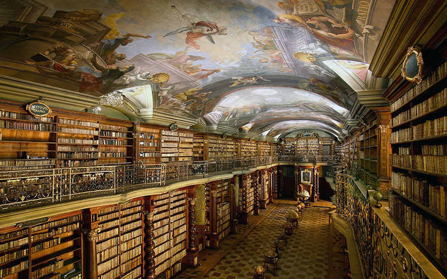 World-Most-Beautiful-Library-klementinum-national-library-czech-republic-5