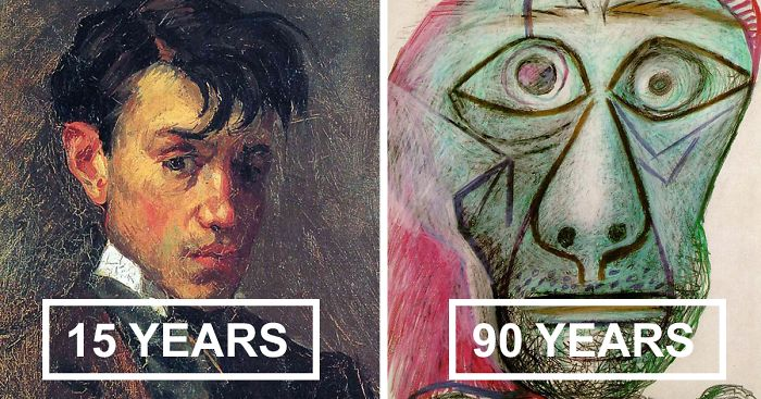 pablo-picasso-self-portraits-chronology