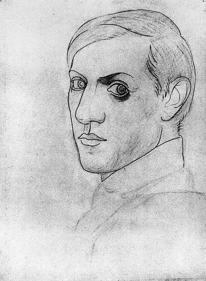 pablo-picasso-self-portraits-chronology (10)