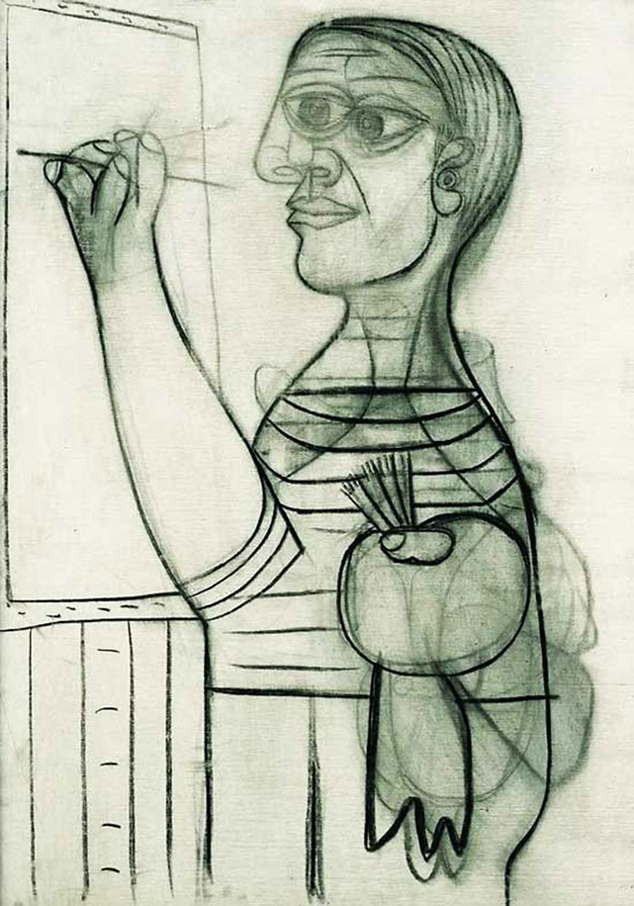 pablo-picasso-self-portraits-chronology (11)