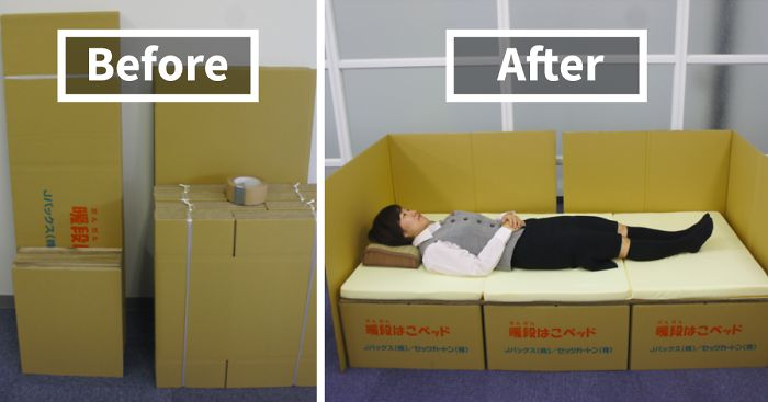cardboard-box-bed-earthquake-japan-kumamoto
